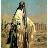 """Portrait of Jane Digby el Mezrab (Palmyra)"" by ArtLoversOnline"