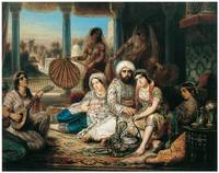 The Pasha and His Harem by Lepaulle