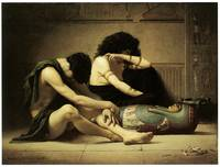 Death of the First-Born by Charles Sprague Pearce