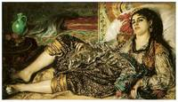 Woman of Algiers, Odalisque by Pierre Renoir