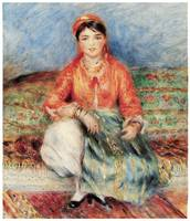 Seated Algerian by Pierre-Auguste Renoir