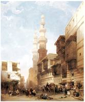 Gate of Metwaley, Cairo by David Roberts