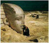 The Questioner of the Sphinx by Elihu Vedder