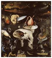 Hell (detail) by Hieronymous Bosch