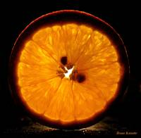 A slice of orange......