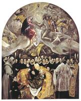 Burial of the Count of Orgaz by El Greco