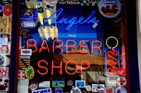 Route 66 - Angel's Barber Shop