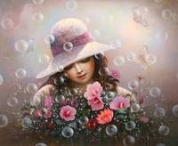 Soap Bubble Girl - Rose Sharon Of Song