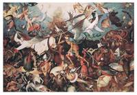Fall of the Rebel Angels by Pieter Brueghel Elder