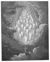 Saturn from the Divine Comedy by Gustave Dore