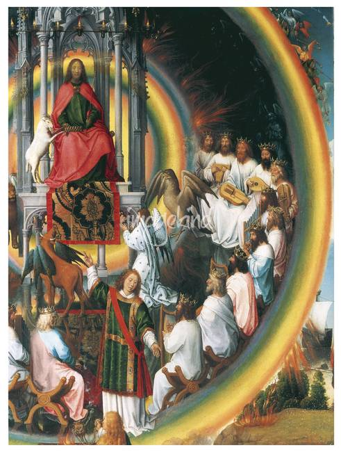 God Enthroned by Hans Memling