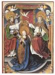 Coronation of the Virgin by Master of Cappenberg