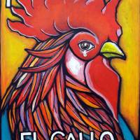El Gallo Art Prints & Posters by Karina Prado
