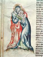 The Virgin and Christ, from the Passion of Abbess