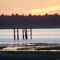 Sunset at the Bay Art Prints & Posters by Laurie Hoover-Atwood