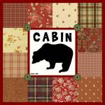 Cabin Quilt Square By Mary Mase