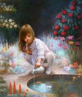 Pond and girls - Yoo Choong Yeul