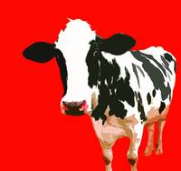 Cow in Red World