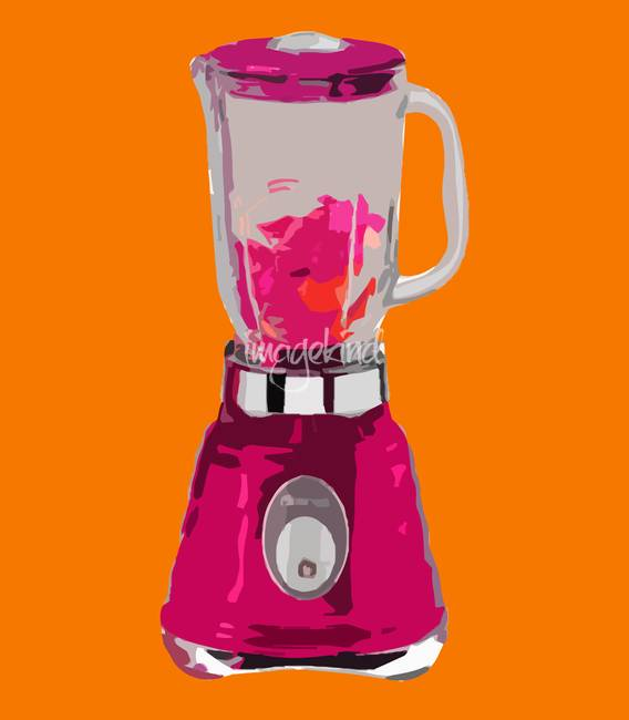 Blender in Orange World