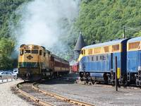 Passenger Service at Jim Thorpe , Pennsylvania