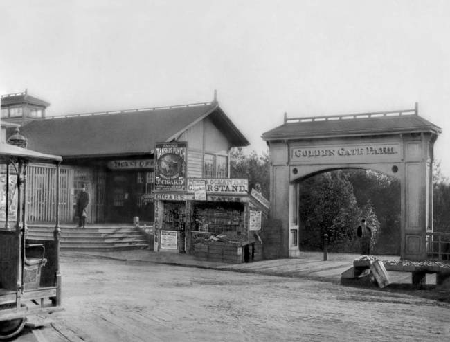 Entrance Gate to Golden Gate Park, c. 1900