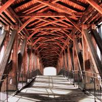 Old Salem Bridge Art Prints & Posters by Mike Smith