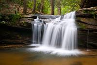 Waterfall on Carrick Creek - Table Rock State Park
