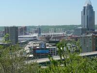 Downtown Cincinnati from Mt. Adams