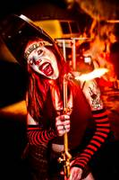 Female Clown Fire 2