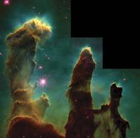 Pillars of Creation from Eagle Nebula