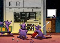Mice at play