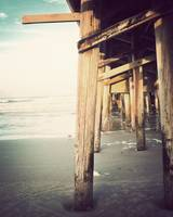 Beneath the Pier-Vintage