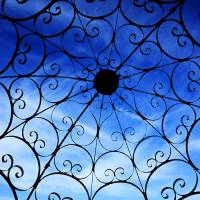 ironwork roof Art Prints & Posters by Justin Short