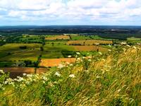 Devil's Dyke in Somerset England