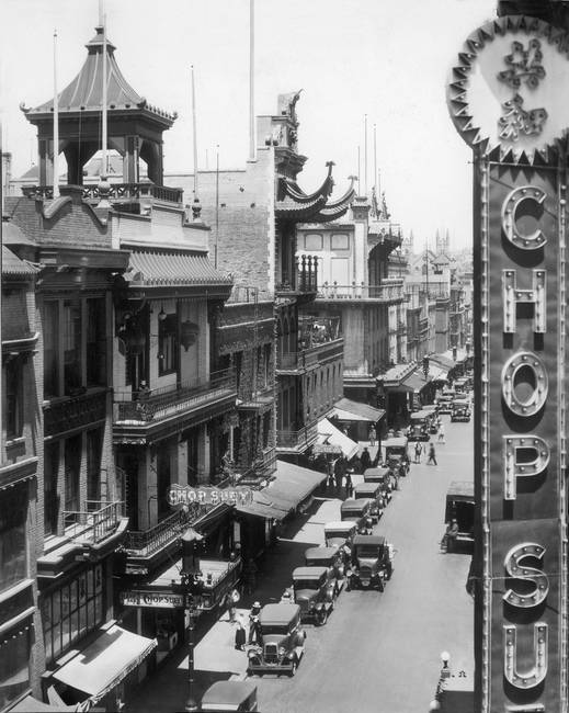 Chinatown San Francisco c1920