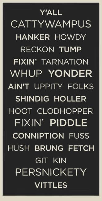 Southern Slang 11