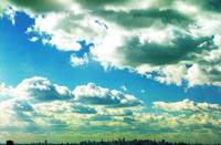 Clouds over New York City