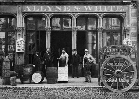 Allyne & White Oils & Paints San Francisco c1880