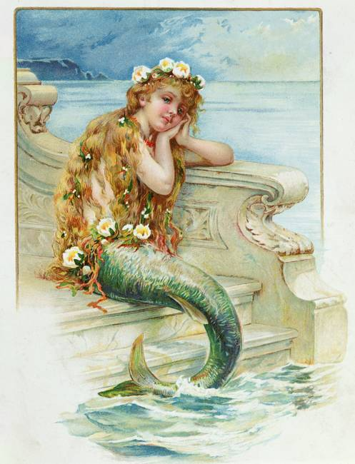 Little Mermaid, by Hans Christian Andersen )1805-7