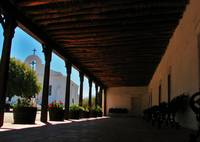 Los Portales and Presidio Chapel of San Elizario