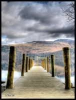 Jetty, Derwentwater, Lake District