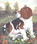 Beagle Dog Puppy Art