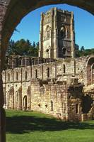 Fountains Abbey in Summer 8