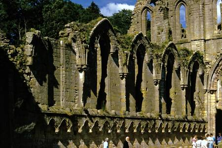 Fountains Abbey in Summer 6
