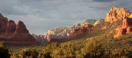 Sedona Sunshine Panorama