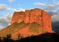 As the Sun Sets in Sedona by Carol Groenen