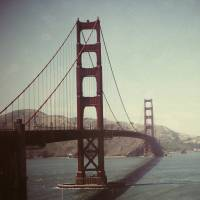Golden Gate Bridge Art Prints & Posters by Circe Lucas