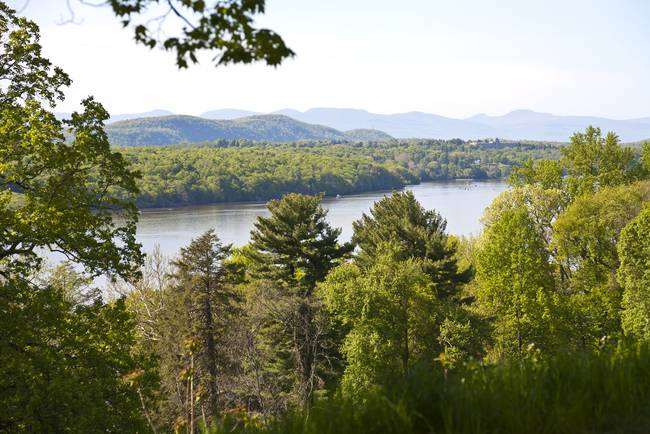 Catskill Mountains and Hudson River Vista