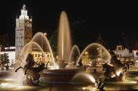 Kansas City Plaza fountain