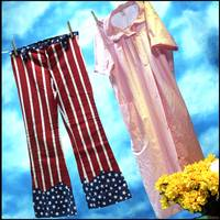 star spangled pants